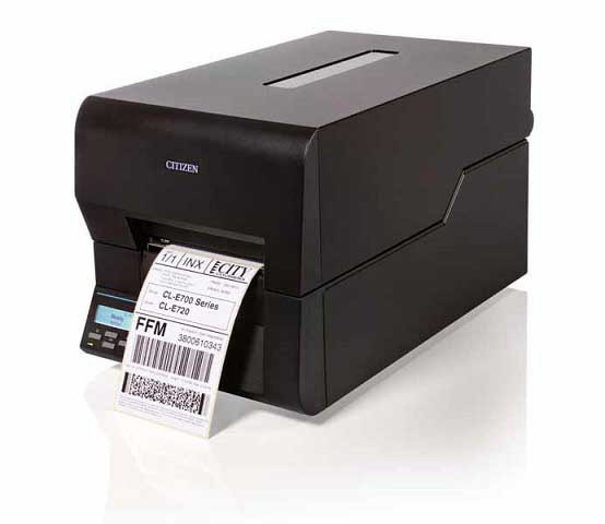 Citizen CL-E720 thermal transfer