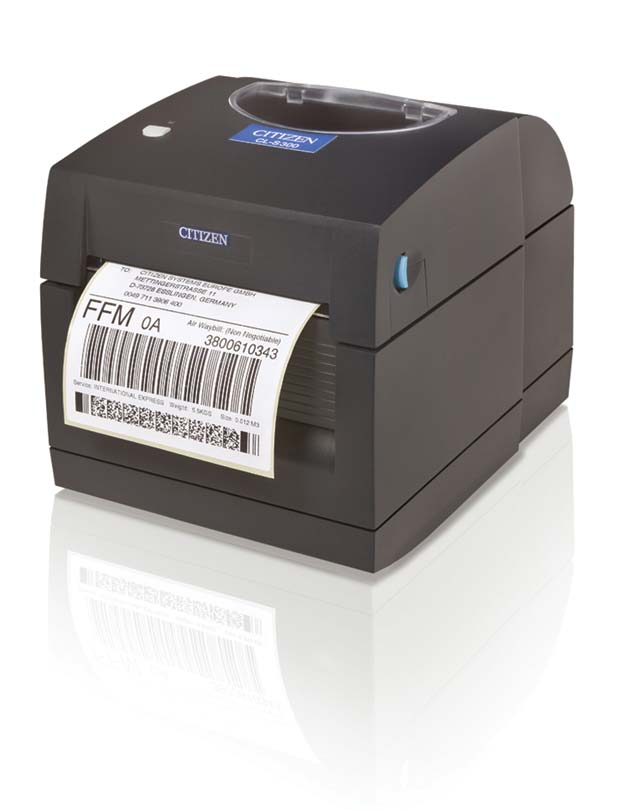 Citizen CL-S300 out-of-the-box labelprinter