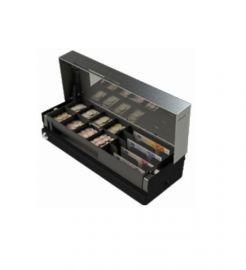 APG »CashPlus« Flip Lid 460, kabel, zwart-460MOD03-0763
