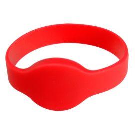 ACS rfid WRISTBAND 1KHz Red, OTR999R rood / red ( per 10 stk)-BYPOS-1710-2