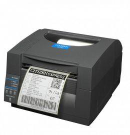 Citizen CL-S521II, 8 dots/mm (203 dpi), EPL, ZPL, Datamax, multi-IF (Ethernet), zwart