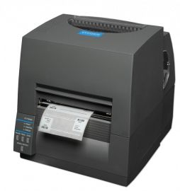 Citizen CL-S631II, 12 dots/mm (300 dpi), EPL, ZPL, Datamax, multi-IF (Ethernet, Premium), zwart