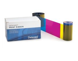 Datacard SR200 YMCK-K ribbon for SRx00 (750 images)-568971-002