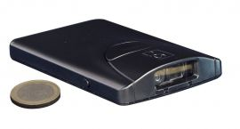 Socket CHS 8Qi iOS, ANDROID, 2D, Antimicrob, USB Oplaadkabel, Koord, Color: Black-CX3343-1577-Q