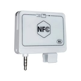 ACR35 NFC MobileMate Card Reader, ◦Supports ISO 14443 Part 4 Type A and B cards color: Whit