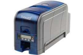 Datacard SP160 300 dots per inch Direct-to-card dye-sublimation/resin thermal transfer - Cardprinter, 100-Card Input Hopper , One-sided, edge-to-edge printing