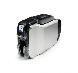 Zebra ZC300, eenzijdig, 12 dots/mm (300 dpi), USB, Ethernet, MSR, display, contact, contacloos-ZC31-FM0C000EM00