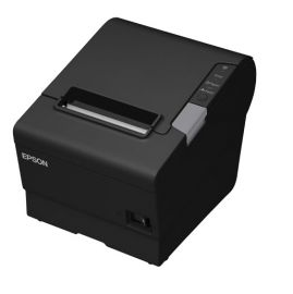 Epson TM-T88VI-iHub, Fiscal DE, TSE: 5 years, USB, RS232, Ethernet, ePOS, black-C31CE94751F4