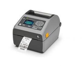 Zebra ZD620d, 8 dots/mm (203 dpi), cutter, RTC, display, EPLII, ZPLII, USB, RS-232, BT, Ethernet, Wi-Fi, grey-ZD62142-D2EL02EZ