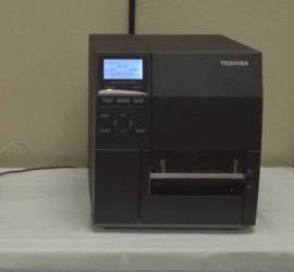 TOSHIBA B-EX4T2 Flat Head TT / DT Industrial Label Printer