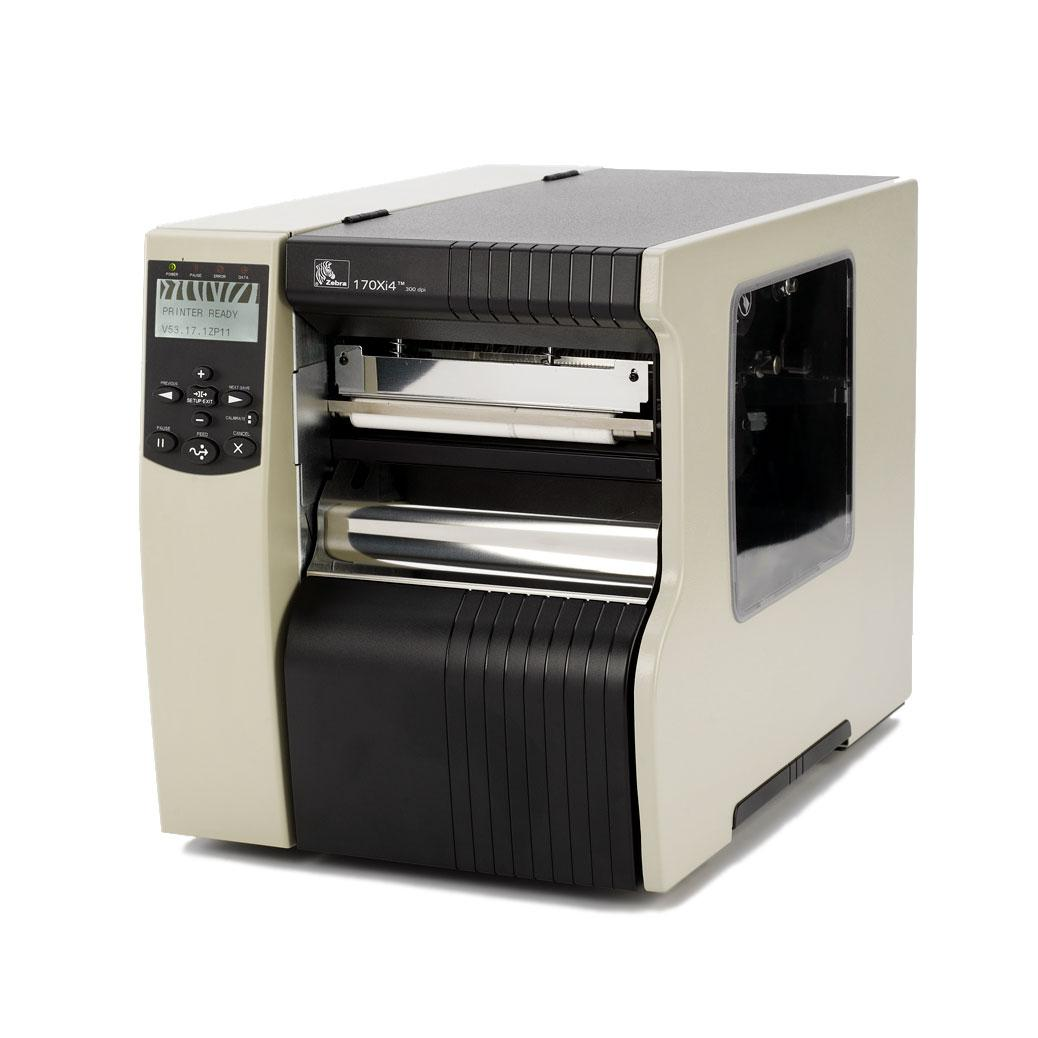 Zebra 170Xi4 plus thermal transfer of direct thermal